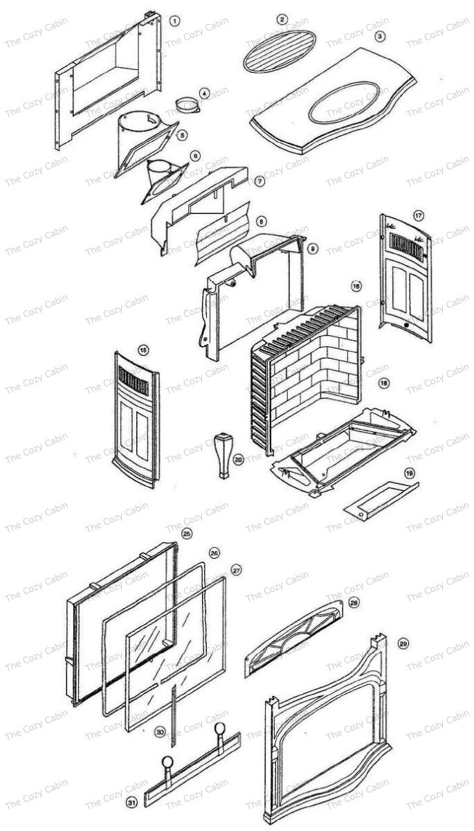radiance gas stove ng lp burner kits ordered separately. Black Bedroom Furniture Sets. Home Design Ideas