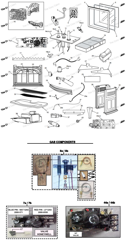 radiance rnvod vermontcastings parts online parts. Black Bedroom Furniture Sets. Home Design Ideas