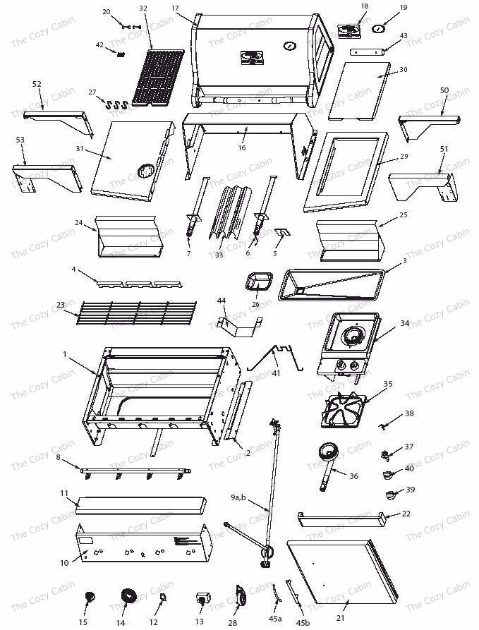 vermont castings bbq grill vcs4005 vermontcastings parts. Black Bedroom Furniture Sets. Home Design Ideas
