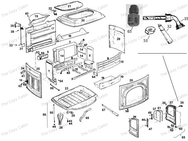 vigilant coal stove or multifuel - vermontcastings.parts ... ge stove wiring diagram