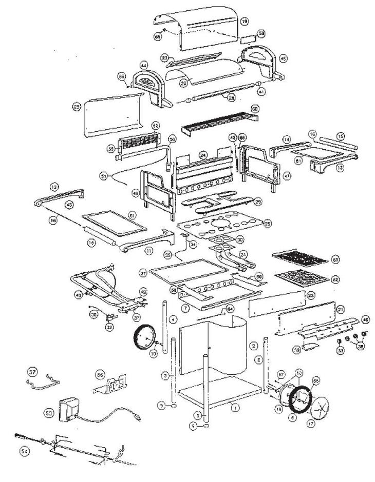 bbq side burner assembly instructions