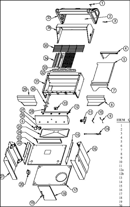 vermont castings bbq grill cf9055 vermontcastings parts. Black Bedroom Furniture Sets. Home Design Ideas